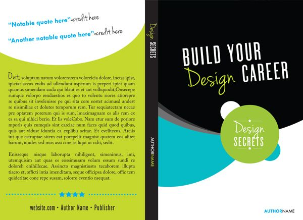 Book Cover Design Template Illustrator : How to create a book template in indesign