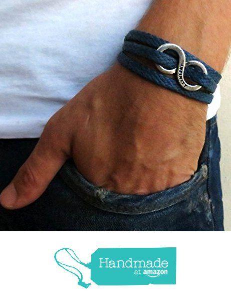 Husband Gift Boyfriend Gift Men/'s Bracelet Friendship Bracelet Men/'s Gift Gift For Him Men/'s Infinity Bracelet Men/'s Jewelry