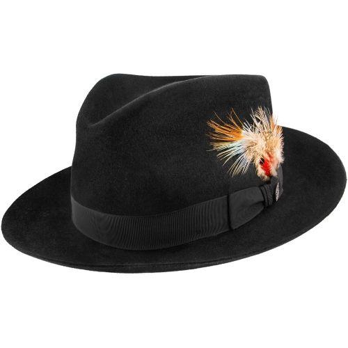 Downs - Stetson Fur Felt Fedora Hat - TFDWNS  910343c1654d