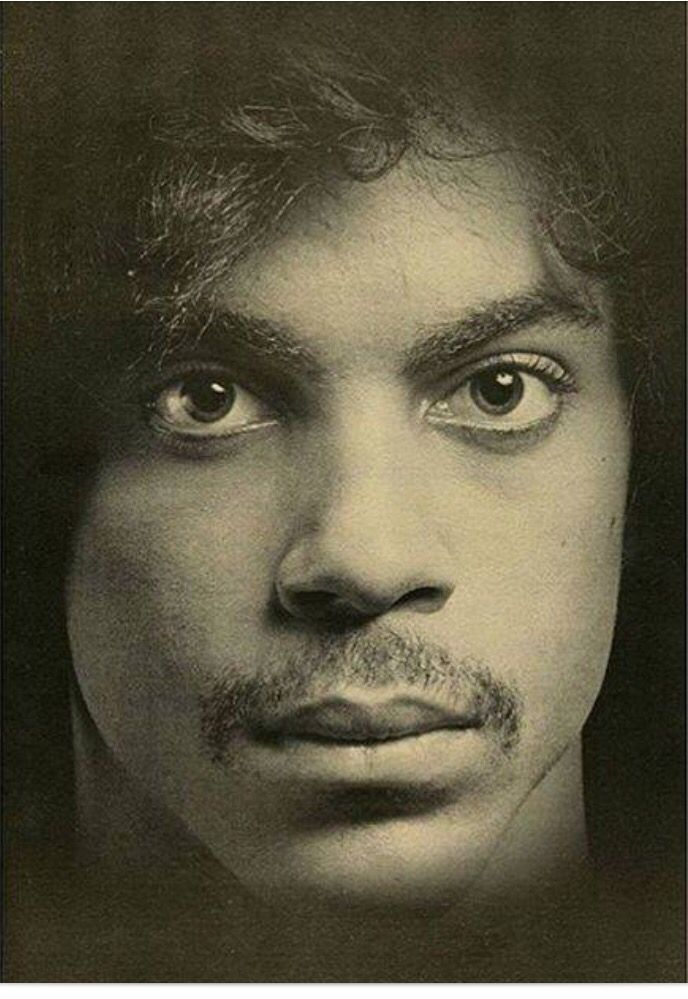 Prince photographed by Robert Mapplethorpe for Andy Warhol's Interview magazine. 1980