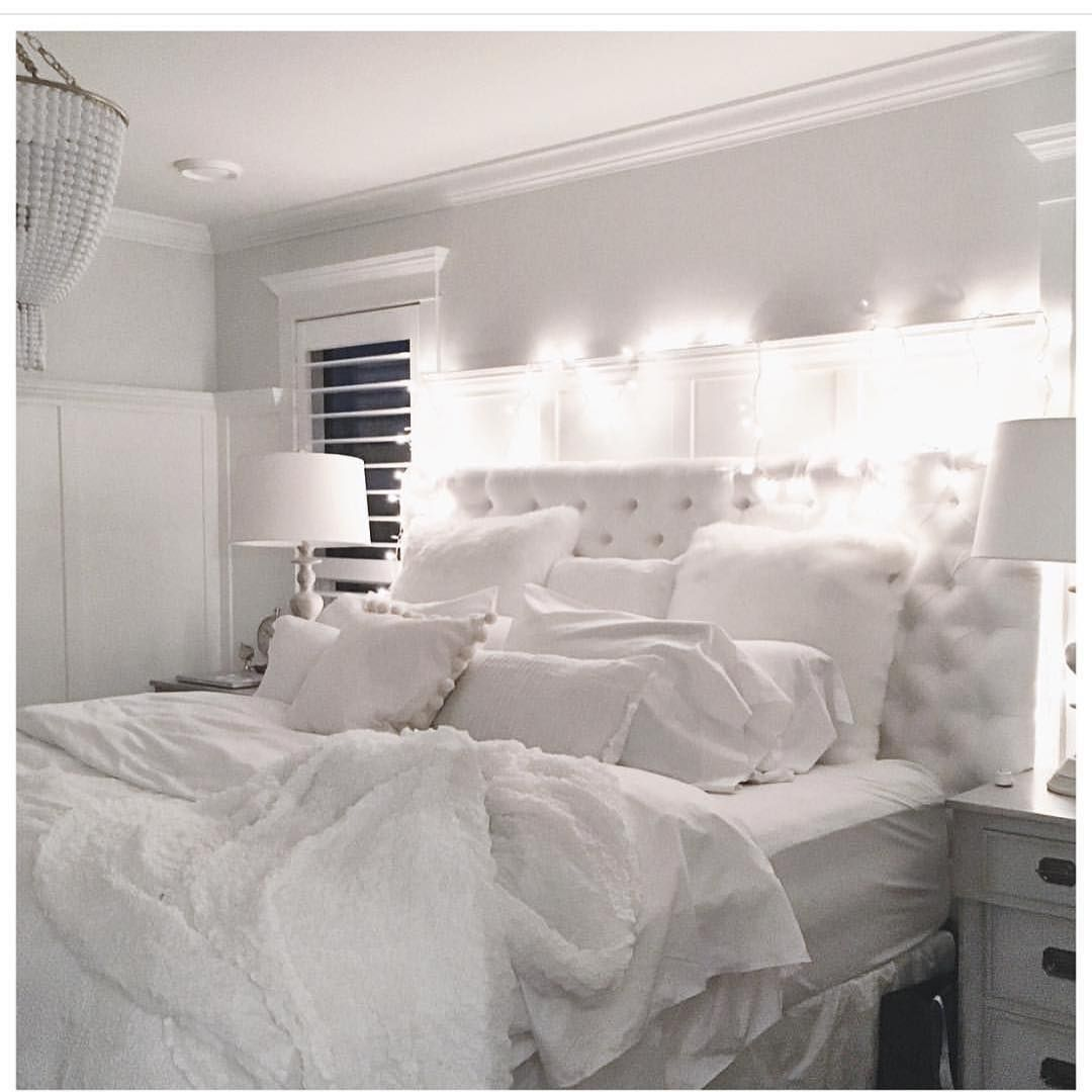 """Best """"So Cozy And Inviting Love Jillian Harris S Bedroom All White Everything """" Con Immagini 400 x 300"""