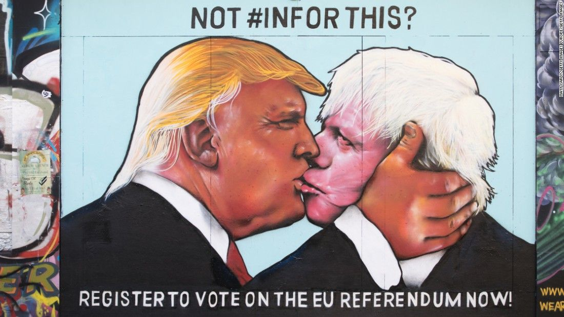nice Boris Johnson: Stop whining about Trump