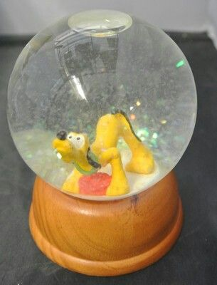 Mini Pluto Snowglobe