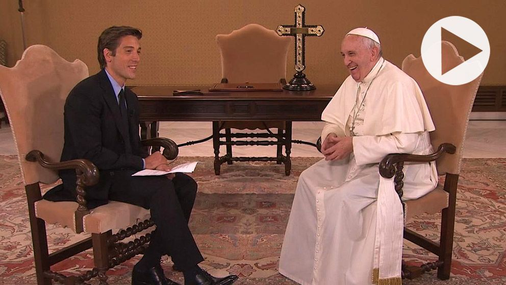 Pope Francis Tells Americans to 'Be Courageous' During ABC News Event