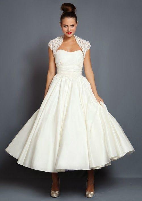 Beautiful Tea Length Dresses
