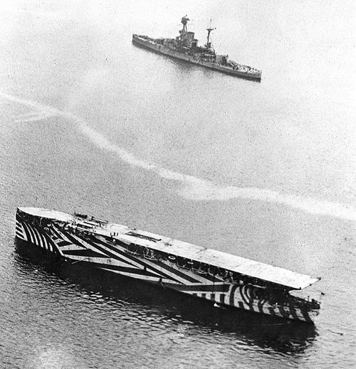 Dazzle camouflage (yes, that's where Razzle Dazzle comes from) was used in American and British Navies during World War I and World War II. Dazzle ships were painted in almost Cubist/Op Art patterns,...