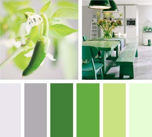 Verde picante oficinas pinterest color pallets - Colores verdes para paredes ...