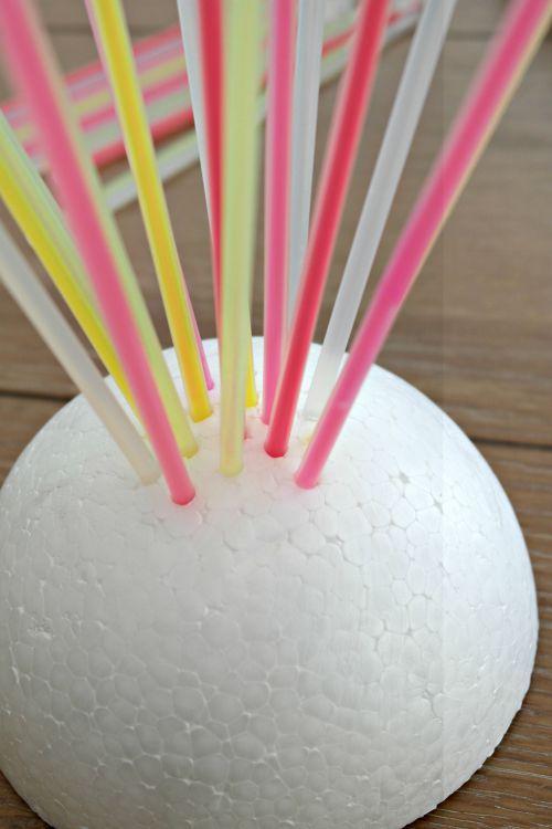 Glow in the Dark Glow Stick Centerpiece Lillians birthday ideas 8 - sweet 16 halloween party ideas