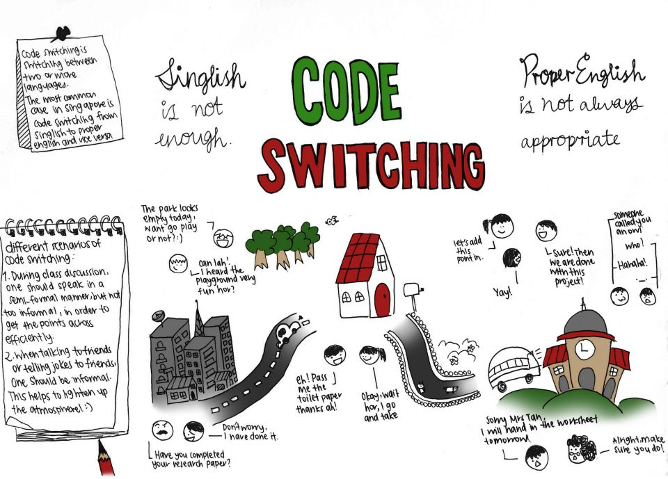 Russian english code switching examples