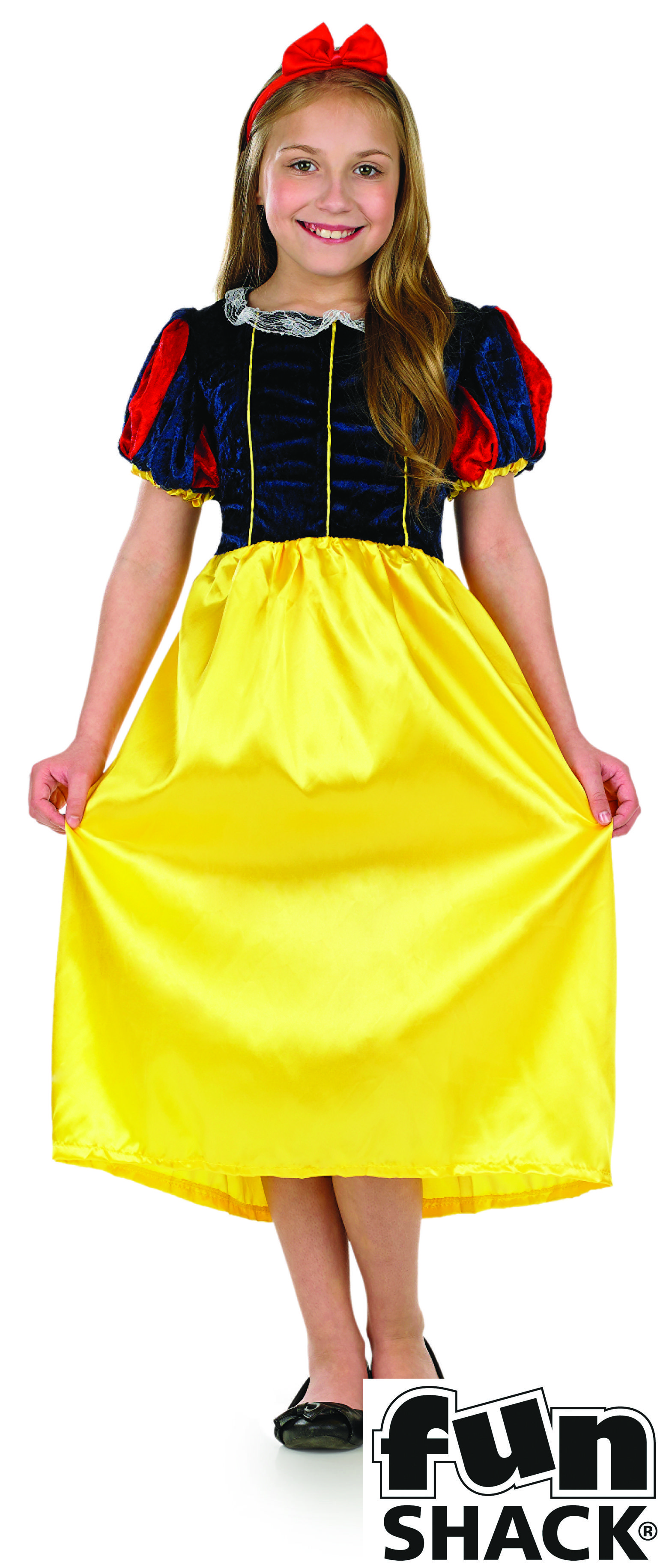 876ad6e4fa Snow White Kids Fancy Dress Costume by Fun Shack | World Book Day ...
