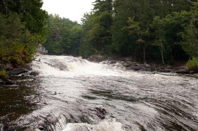 Wilson Falls in Muskoka, Ontario