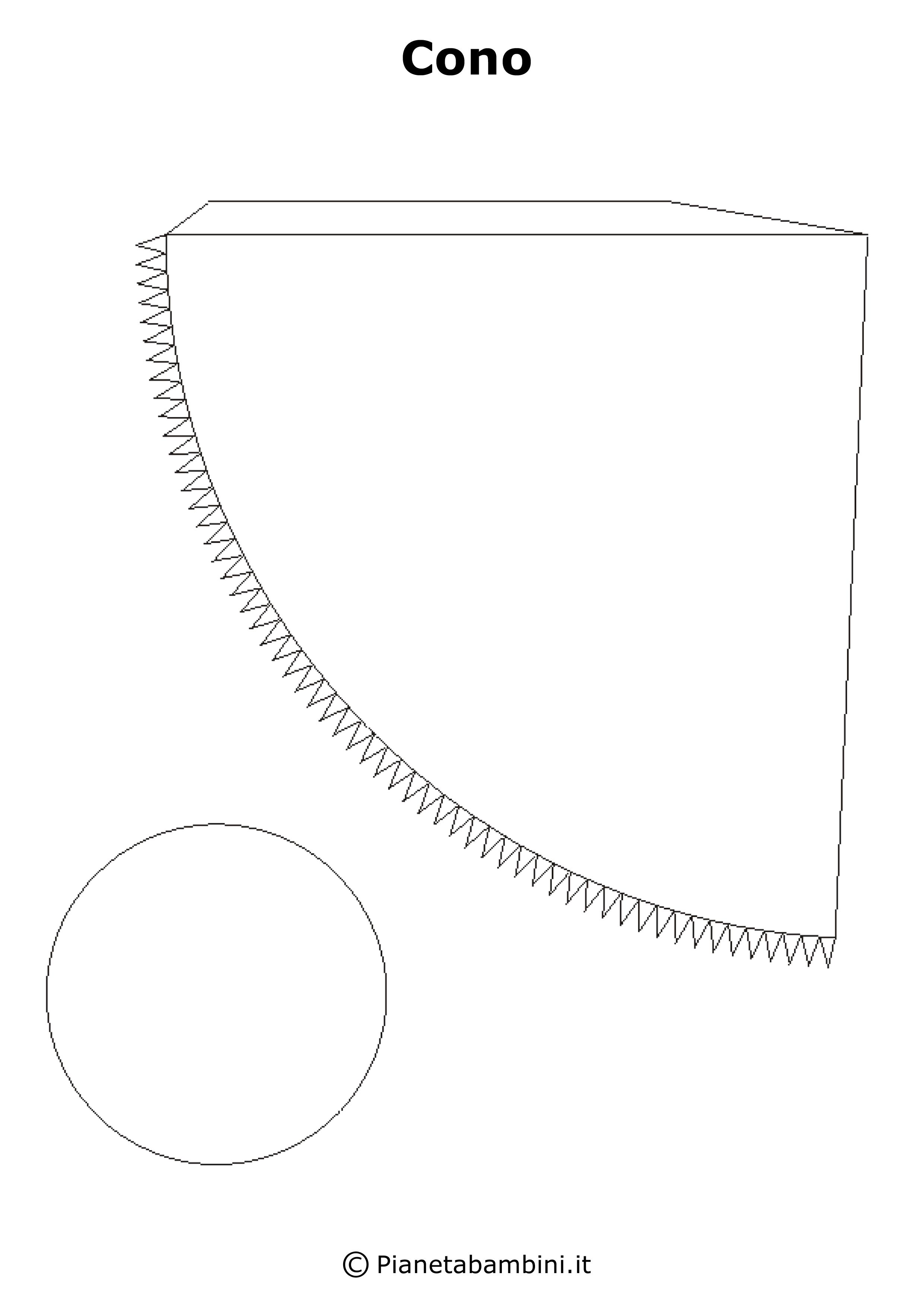 Tante figure geometriche solide in pdf per bambini pronte for Disegno del piano di costruzione