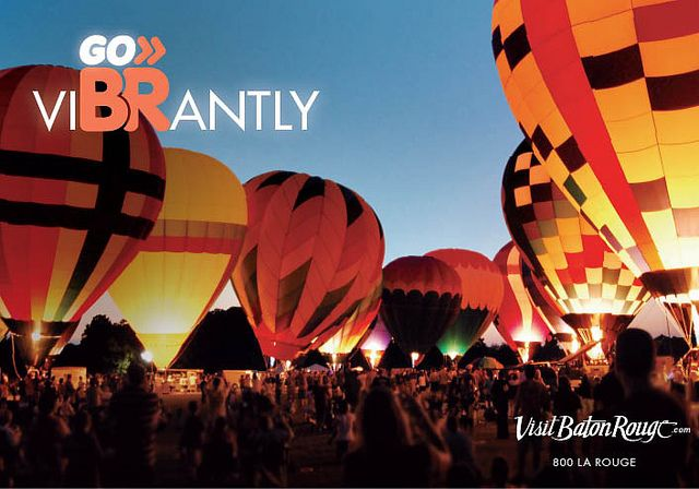Go ViBRantly. Go BR! Campaign, by VisitBatonRouge, via Flickr