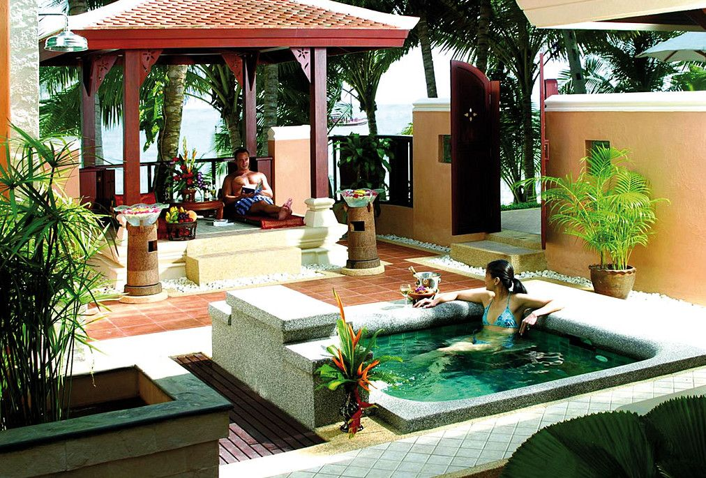 Outdoor Jacuzzi Decorating Ideas Hot Tubs Jacuzzis