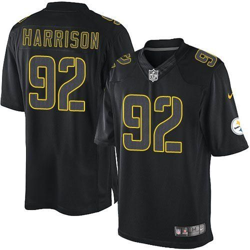 shopping james harrison color rush jersey pittsburgh steelers 92 mens  limited jersey in black da61a 7660f dcfa9fe62