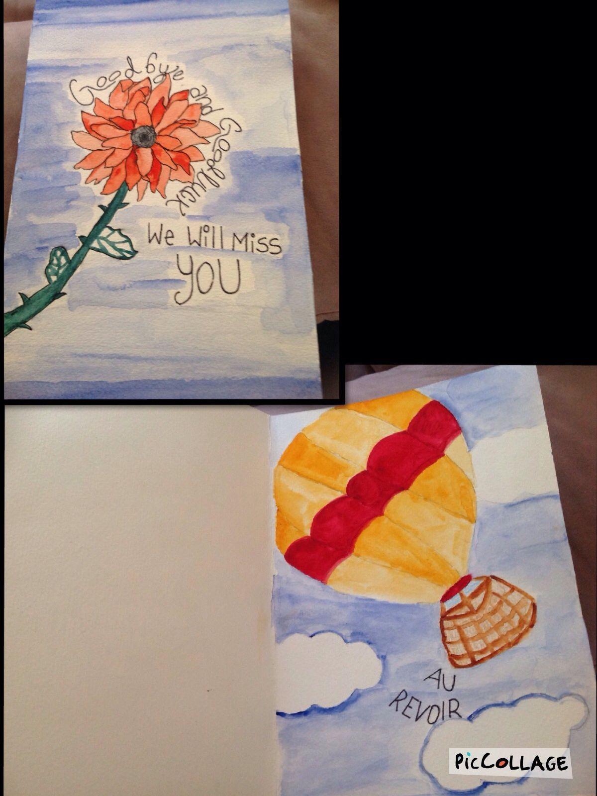 Watercolor card :)