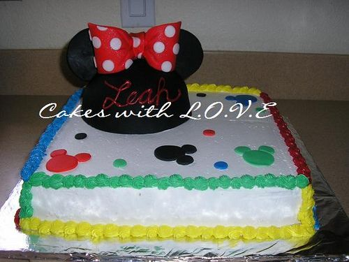 Minnie Mouse Cake Disney Food Pinterest Mouse cake Hat cake