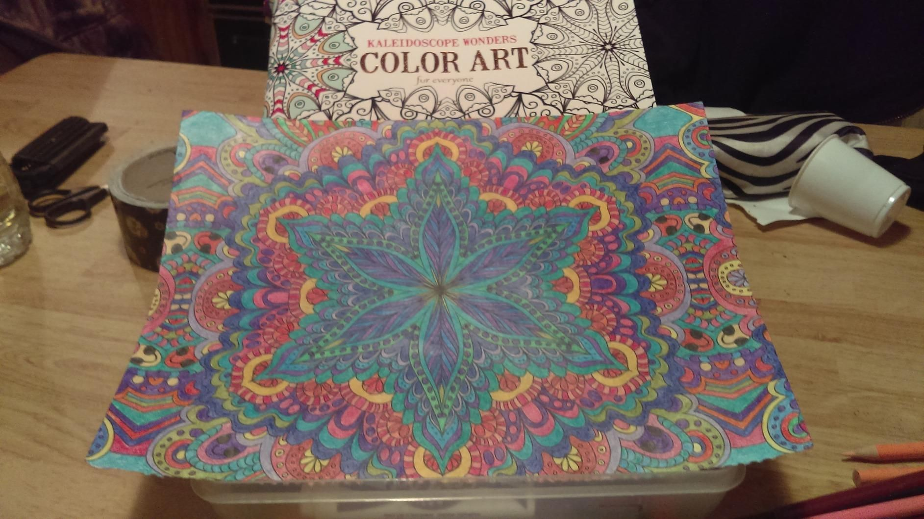Color art kaleidoscope - Kaleidoscope Wonders Color Art For Everyone Leisure Arts The Guild Of Master Craftsman