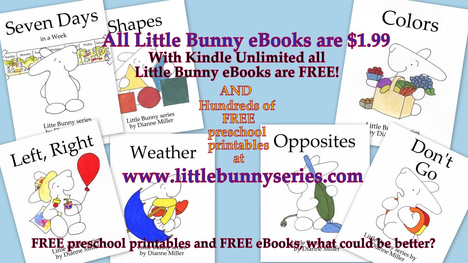 Learn And Have Fun With Little Bunny Ebooks And Free