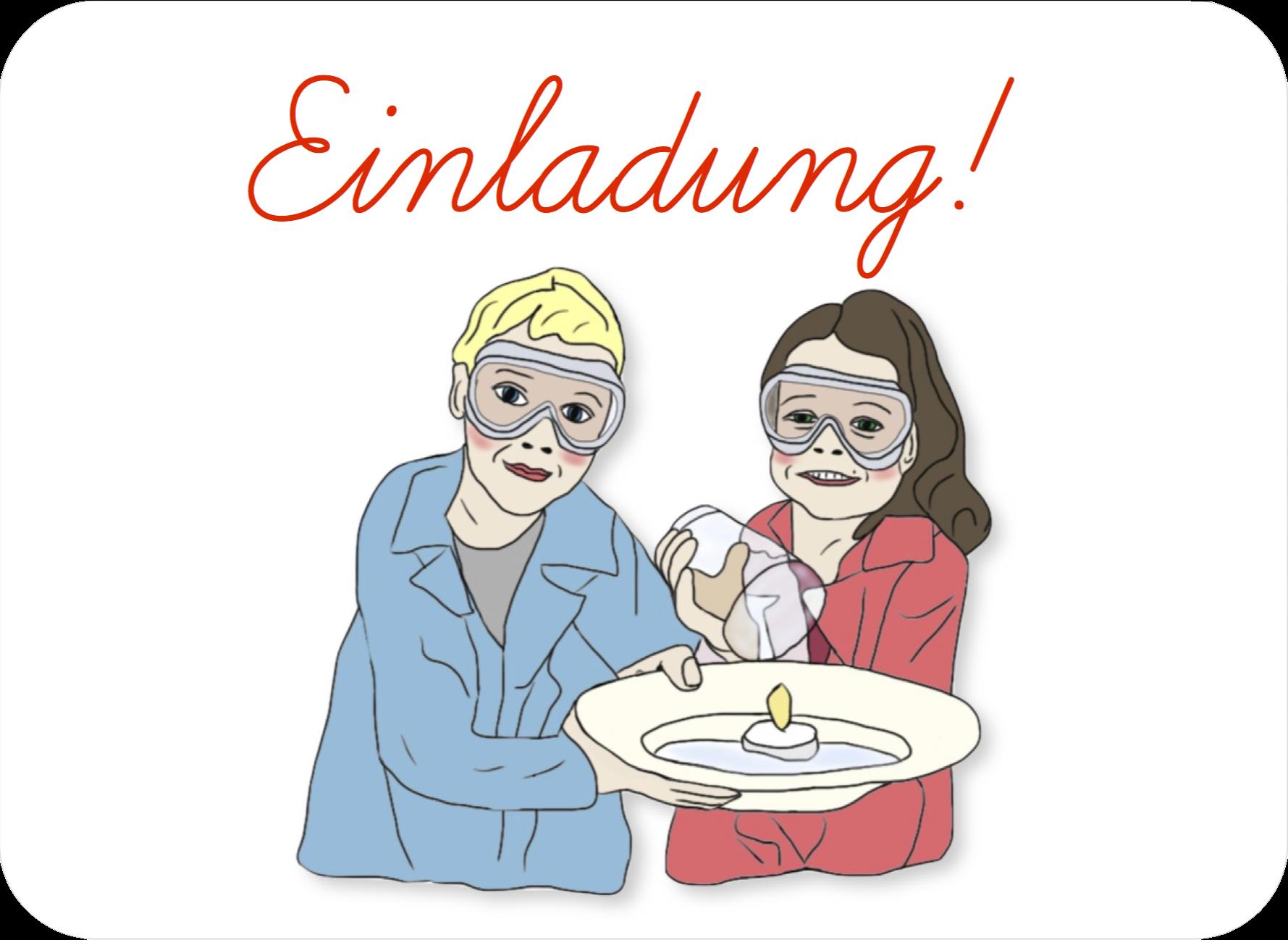 Einladung Kindergeburtstag Forscher-Party | FORSCHER ...