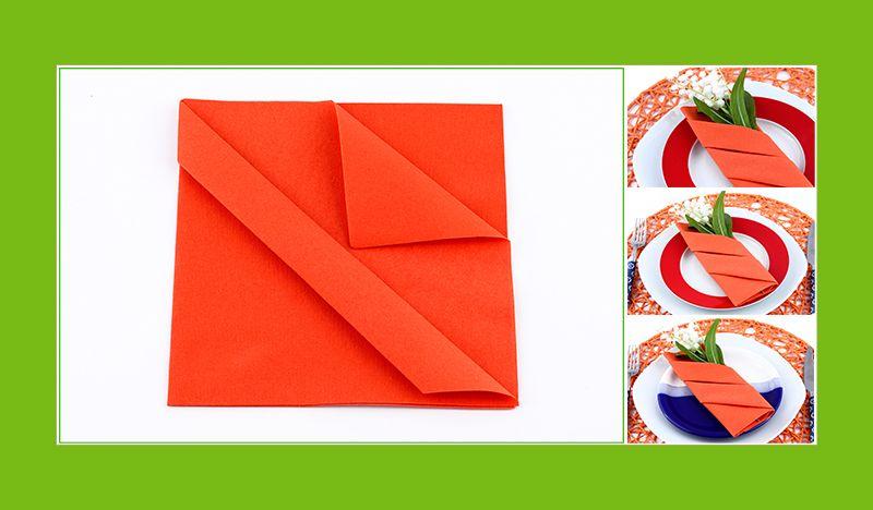 Servietten Bestecktasche servietten falten bestecktasche anleitung etui konfi lena