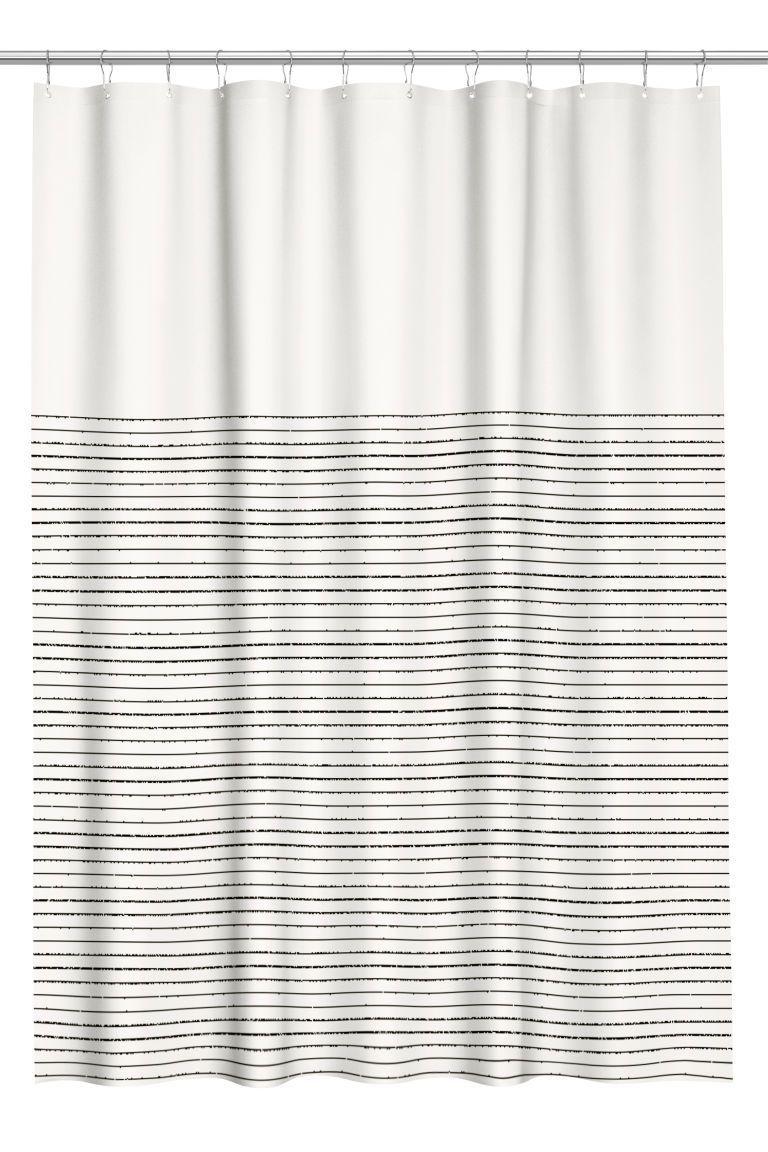 Cotton Shower Curtain Blue Shower Curtains Cute Shower Curtains