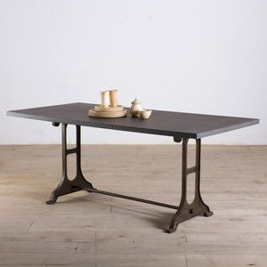 Gwalior Dining Table Zinc Finish now featured on Fab.