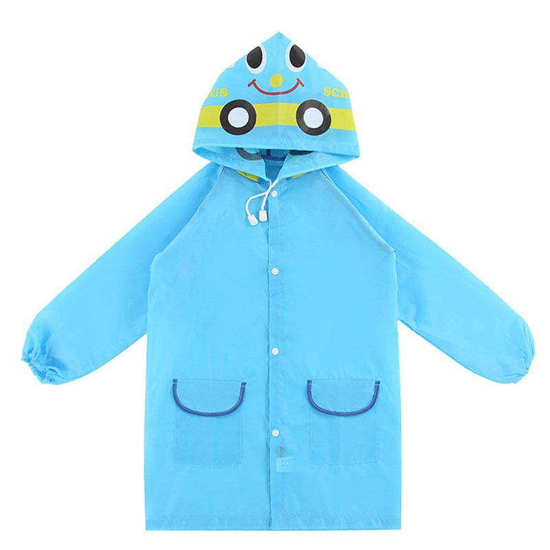 2017 New Style Free Size Poncho Waterproof Kids Rain Coat For Children Raincoats Rainwear Kids School Cartoon Rai Raincoat Kids Kids Rain Jackets Baby Raincoat