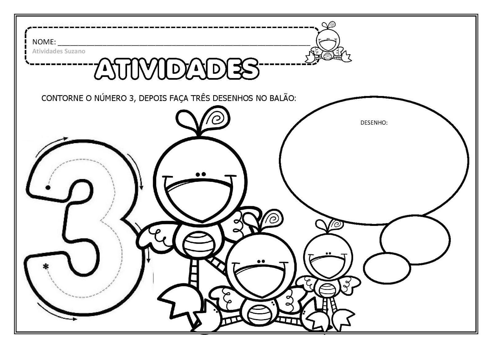 Educacao Infantil Numeros Ate O 5 Em Pdf Educacao Infantil