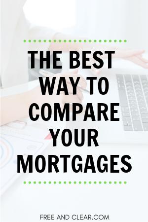 Mortgage Comparison Calculator Mortgage Comparison Mortgage