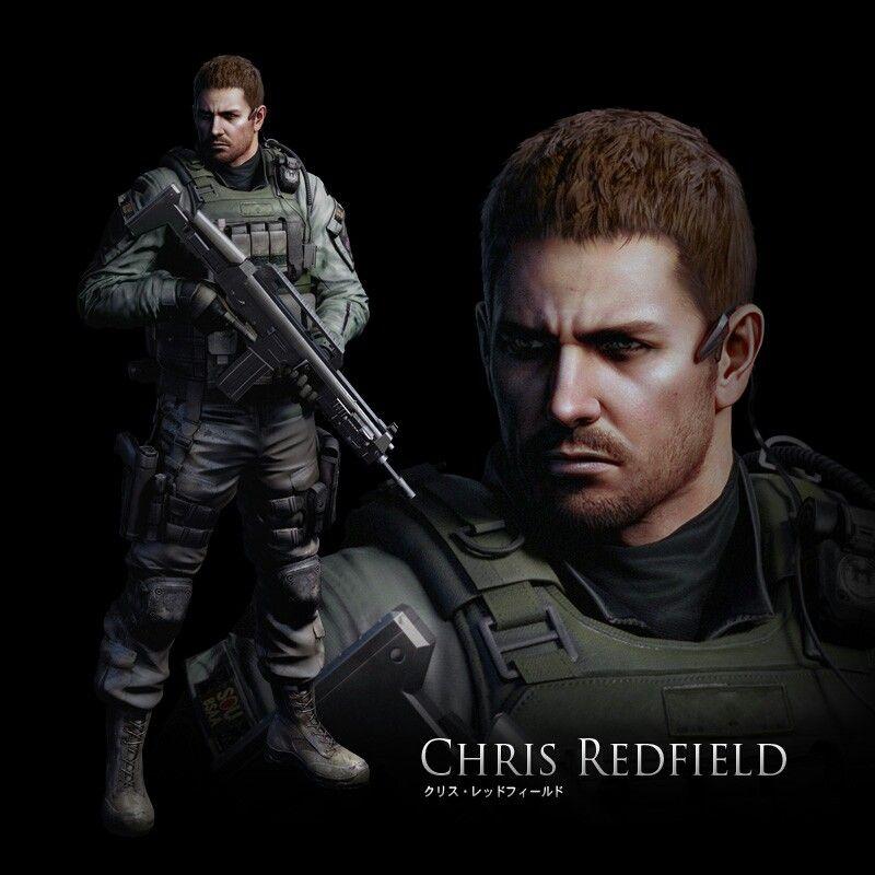 Chris Redfield Re6 Resident Evil Resident Evil Game Evil