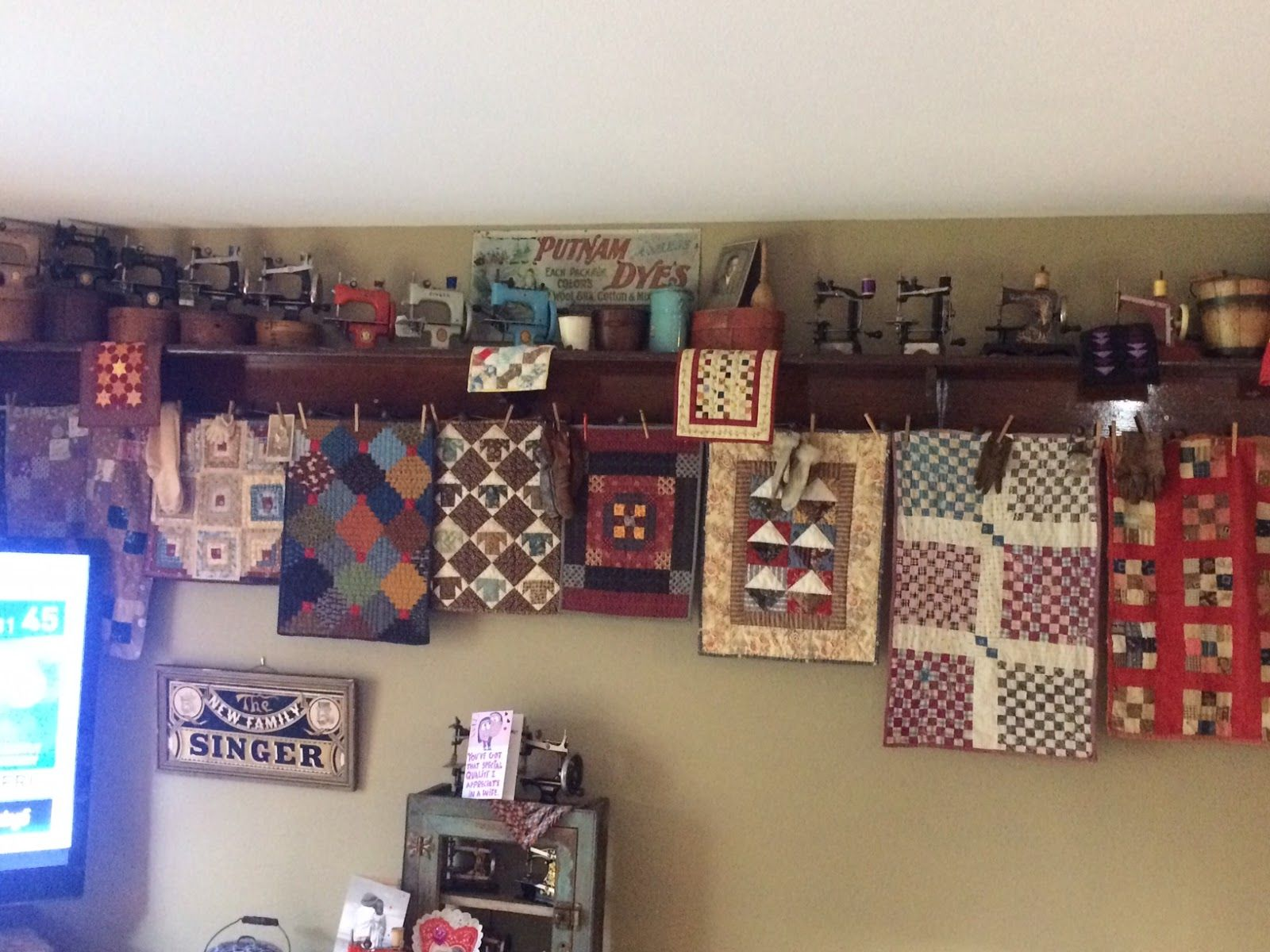 Here's a little corner of Carriage Country Quilts, which we ... : country carriage quilts - Adamdwight.com