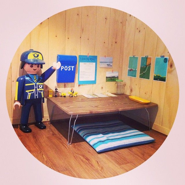 느리게 가는 편지 코너 완성 #슬로우트립 #플레이모빌 #잉여룸 #다락방 #MOMA #playmobil