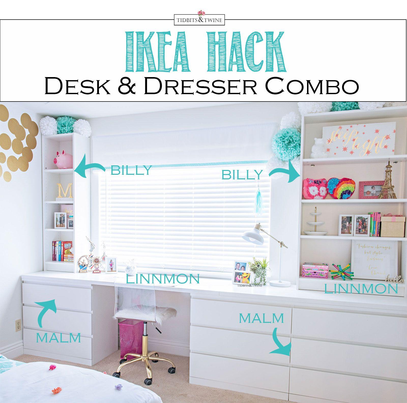 Ikea Hack For A Built In Look Habitacion Infantil Ikea