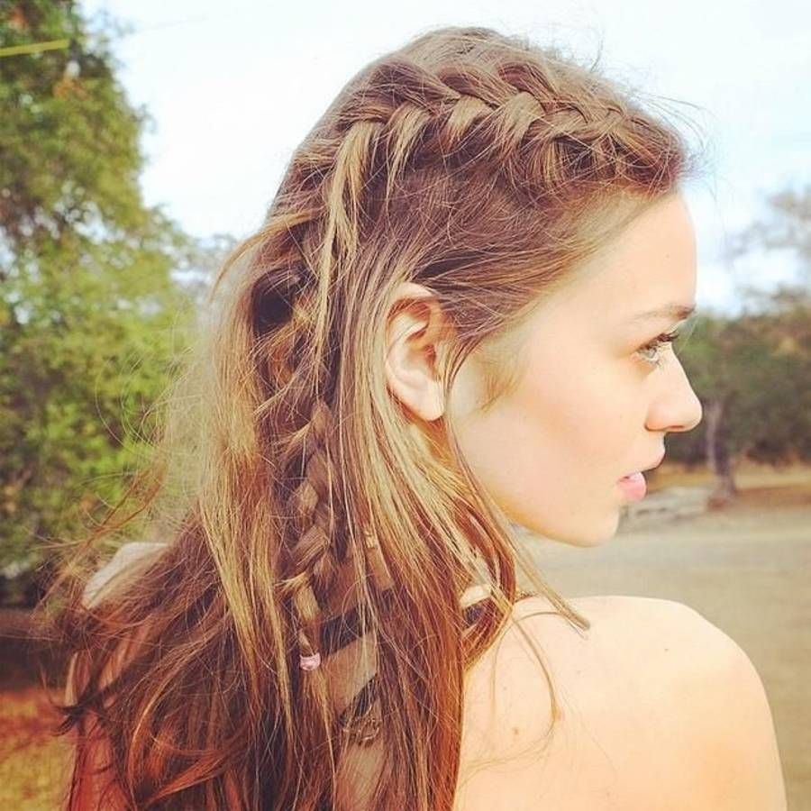 40 Coiffures De Mariage Rock Ou Sages Elle Braids For Long Hair Hair Styles Hair Beauty