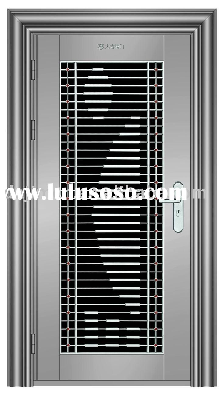 Security Door Safety Door Metal Door Home Door Main Door Hollow Stainless Steel Door Bedroom Door Securi Steel Door Design Grill Door Design Steel Doors