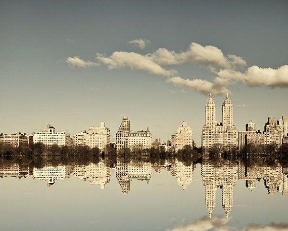 NYC Skyline New York Photography Manhattan by EyePoetryPhotography