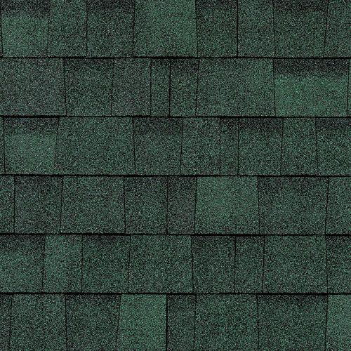 Best Oakridge® Shingles Chateau Green Shingling Green Roof 400 x 300