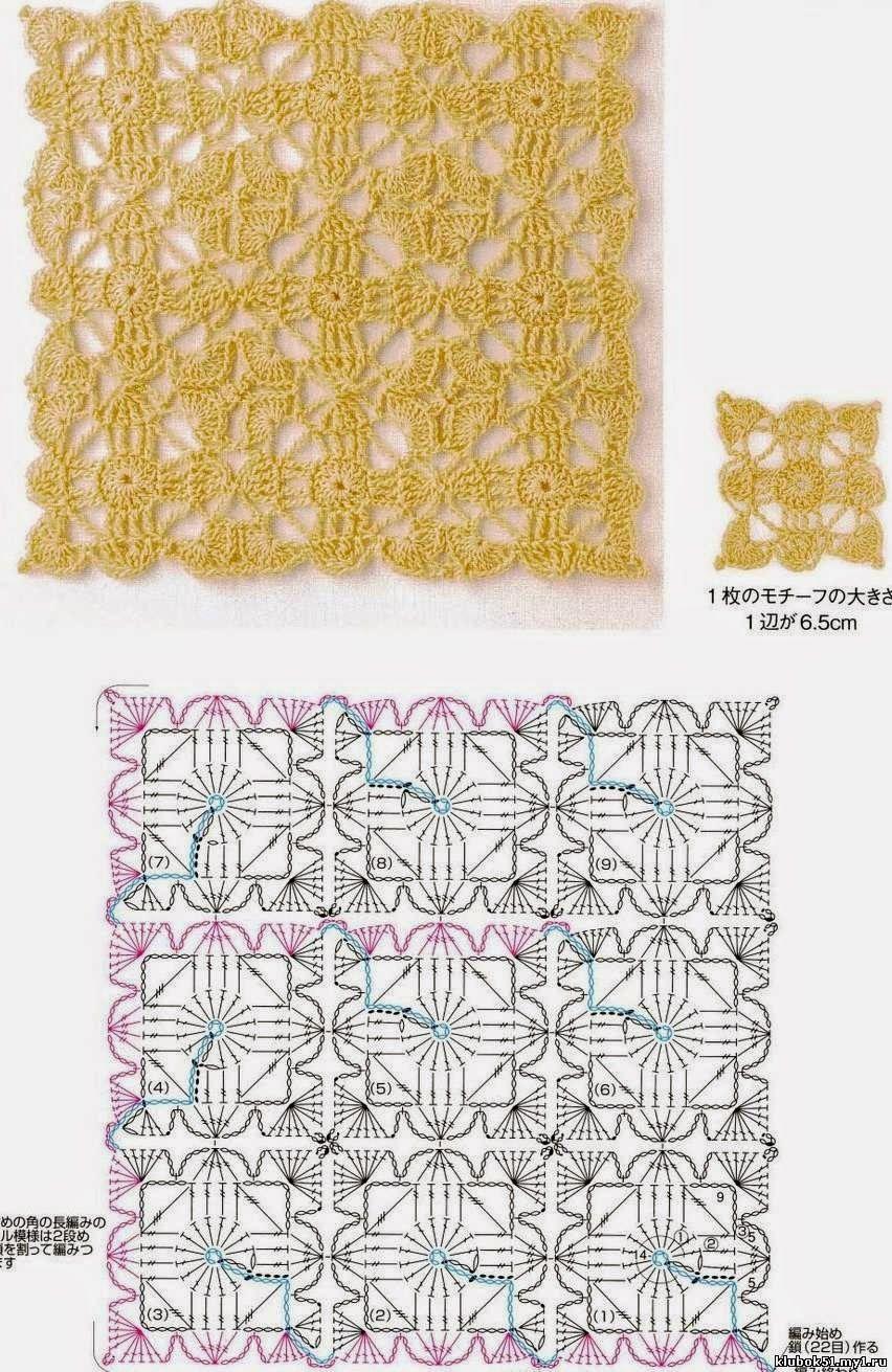 Pin de Maura Clemencia en croche | Pinterest | Croché, Ganchillo y ...