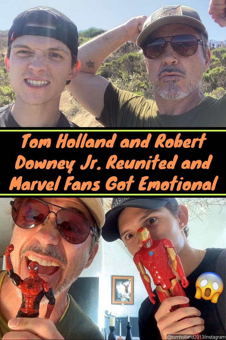 Tom Holland And Robert Downey Jr Reunited And Marvel Fans Got Emotional Downey Junior Robert Downey Jr Tom Holland