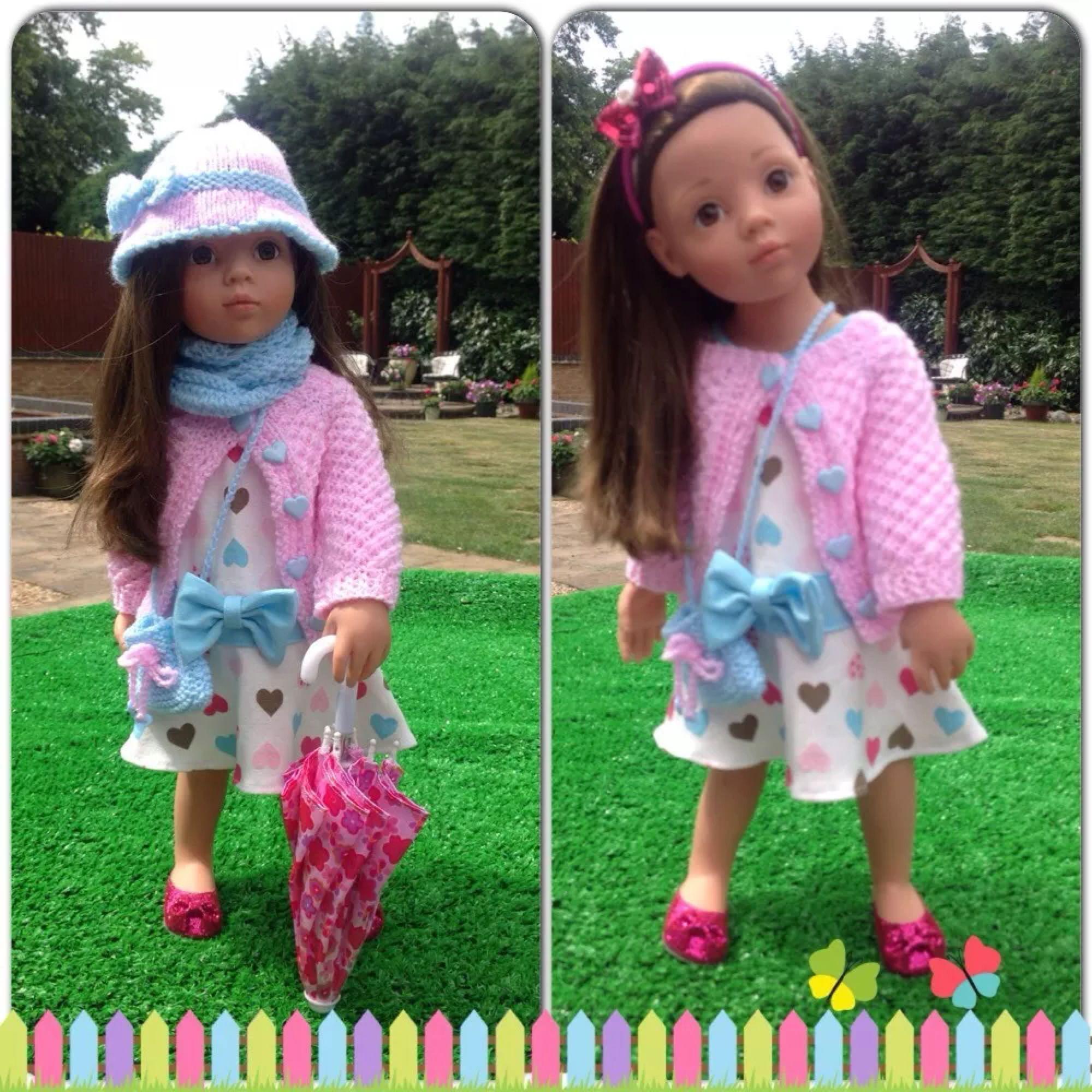 Gotz hannah american girl doll 10 piece outfit | Rund ums Nähen ...