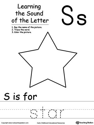 Learning Beginning Letter Sound: S
