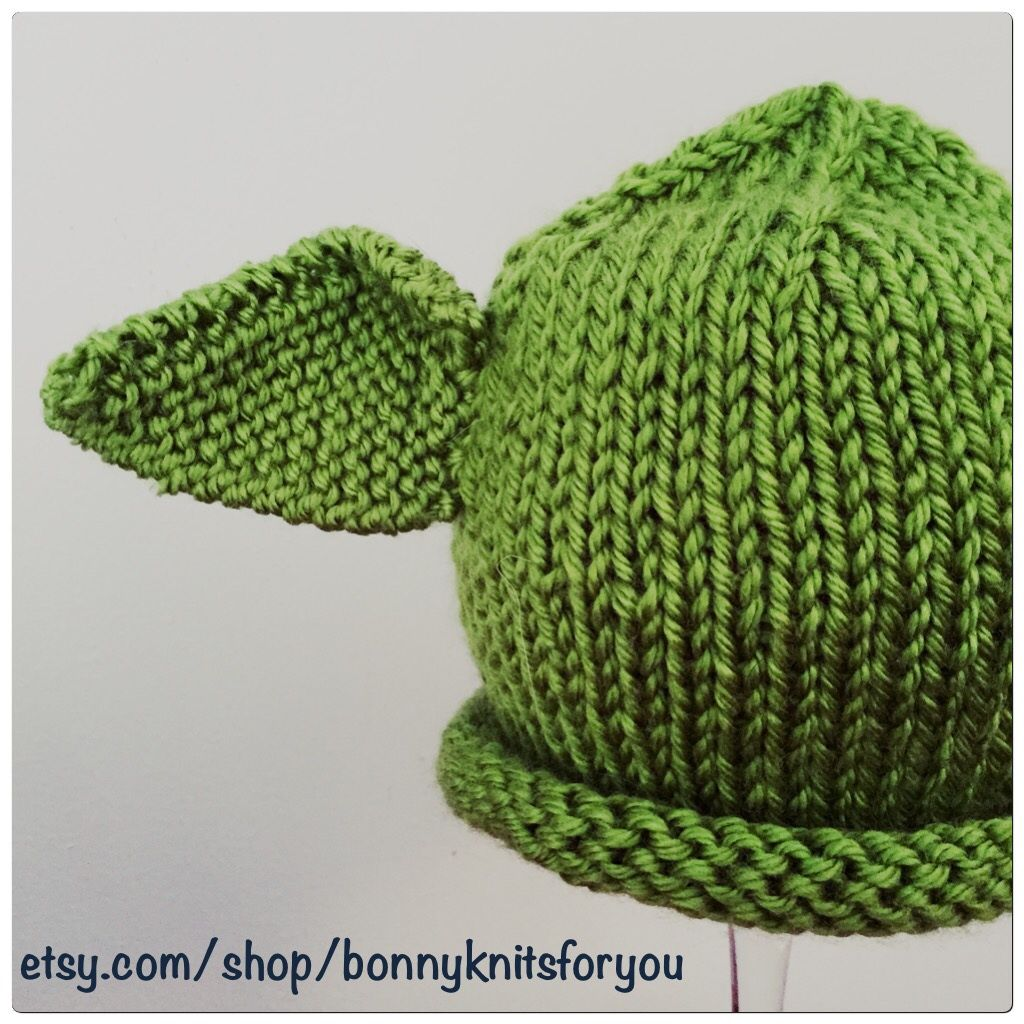 Made to order Yoda hats!   Hats, Crochet hats, Knitting ...