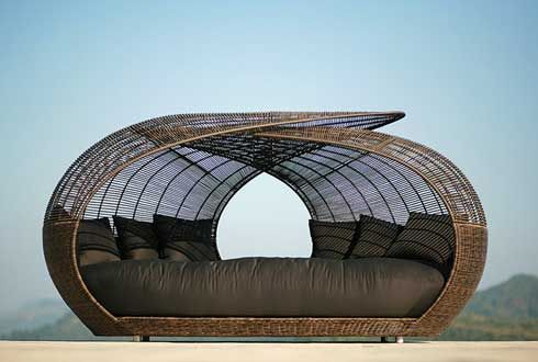 Outdoor Furniture - Daybeds By Freshome.com - Interior Design &  Architecture Newsletter | outdoors | Pinterest | Daybed, Outdoor beds and Outdoor  daybed - Outdoor Furniture - Daybeds By Freshome.com - Interior Design