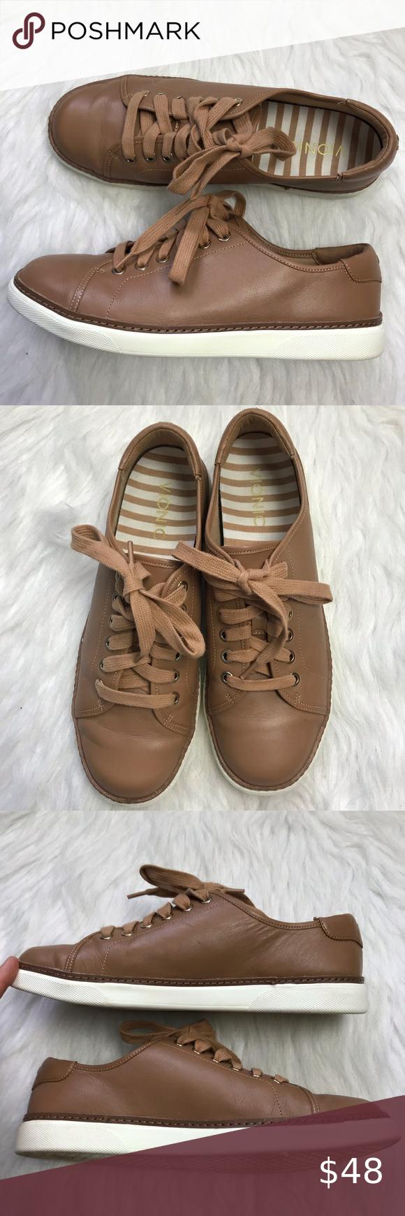 Vionic Leah Casual Sneakers Brown Tan