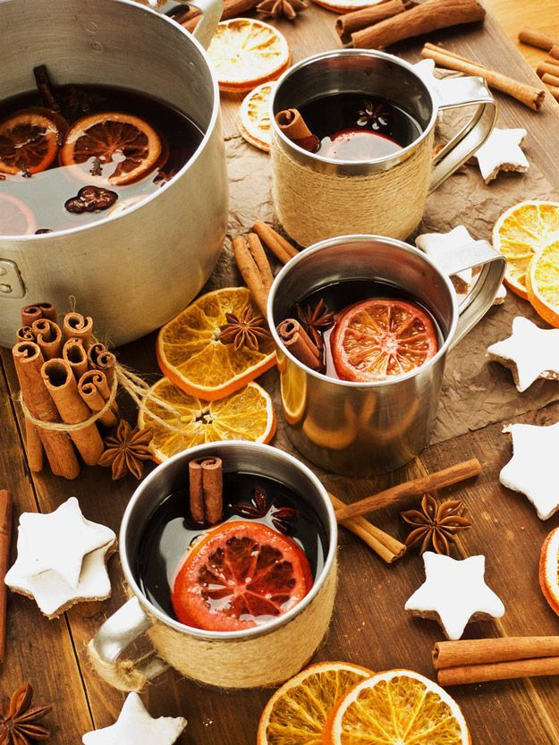 Mulled Wine Is The Most Soul-Warmingly Delicious Drink Ever #cocktaildrinks