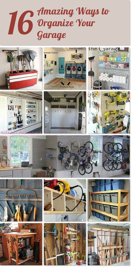 Delightful Organizing Your Garage Ideas Part - 14: 16 Amazing Tips And Techniques For Organizing Your Garage |Hometalk