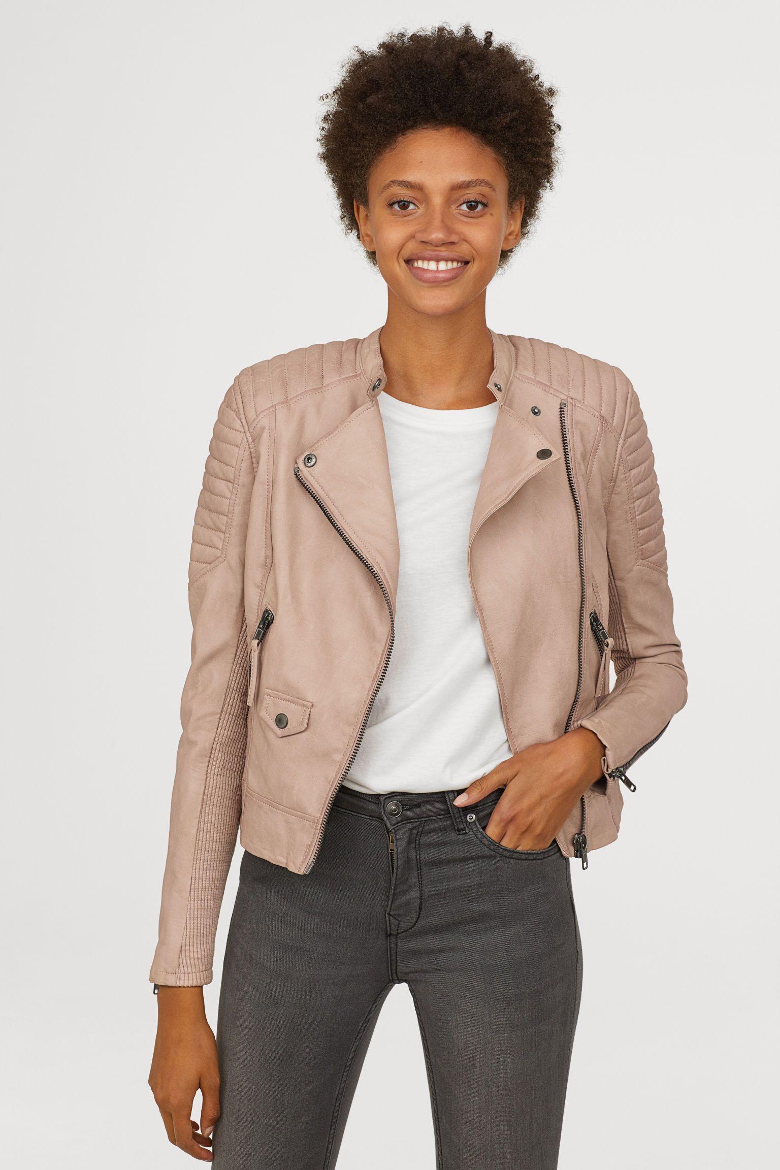Biker jacket Light mole Ladies H&M Jackets, Biker