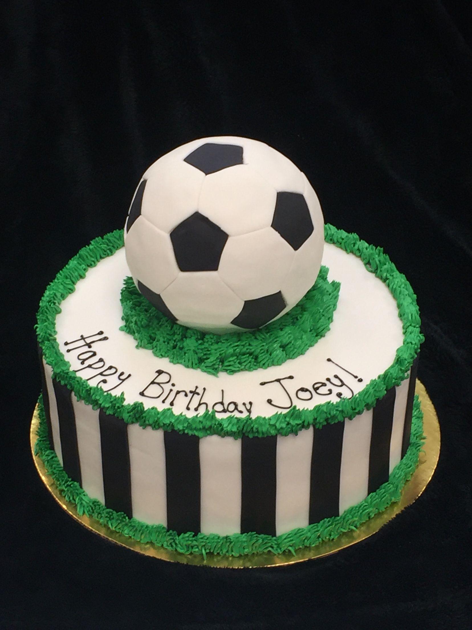 Tremendous Soccer Theme Birthday Soccer Birthday Cakes Soccer Birthday Personalised Birthday Cards Paralily Jamesorg