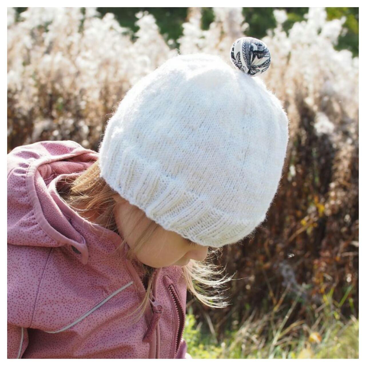Drops Delphos -neulepusero Cotton Merinosta